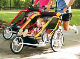 Sillas para correr con bebé y niños